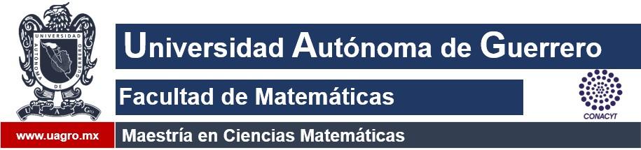 Maestría en Ciencias Matematicas
